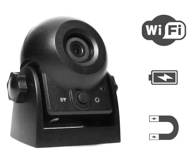 cam ra de recul 12 24v rc60 transmetteur wi fi pour liaison en wifi. Black Bedroom Furniture Sets. Home Design Ideas